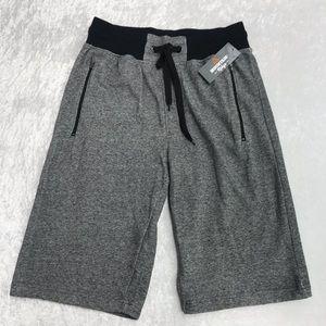 NEW Mountain Ridge Grey and Black Men's Shorts